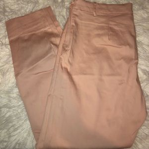 H&M pink slacks